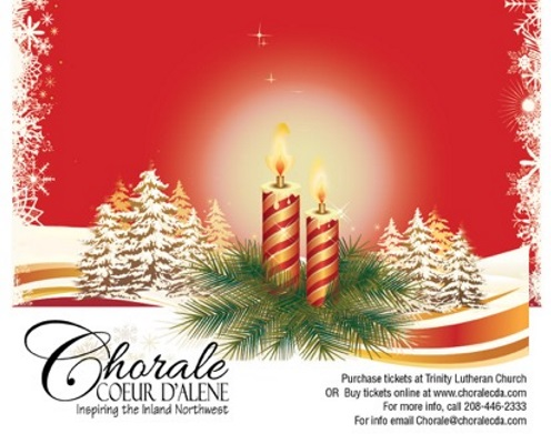 Coeur D Alene Christmas 2020 Concerts Christmas by Candlelight Concert with Chorale Coeur d'Alene